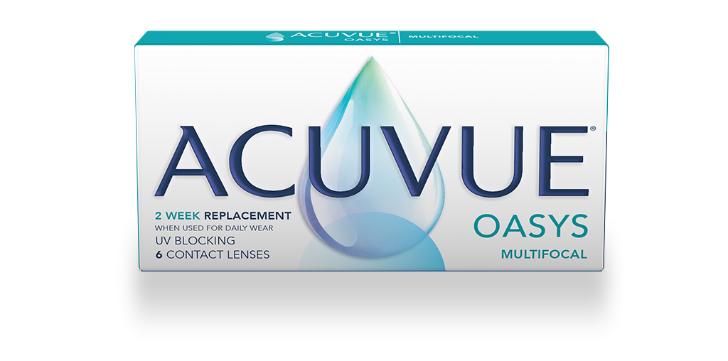 ACUVUE® OASYS MULTIFOCAL with PUPIL OPTIMIZED DESIGN