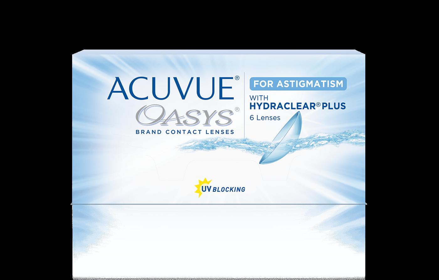 ACUVUE OASYS® for Astigmatism 2-Week