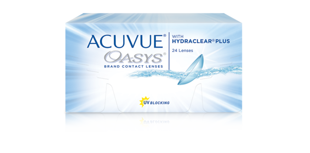 ACUVUE® OASYS with HYDRACLEAR® PLUS  Technology