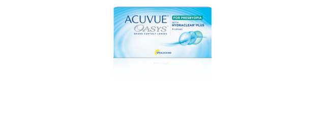 ACUVUE® OASYS for PRESBYOPIA