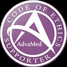 Supporteur du code de déontologie AdvaMed