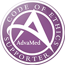 Supporteur du code de déontologie AdvaMed